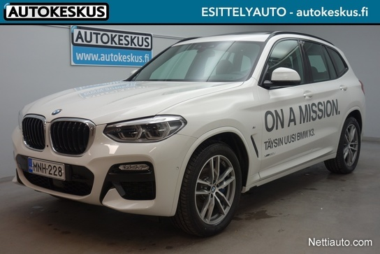 bmw x3 g01 xdrive20d a business m sport 4x4 2018 used vehicle nettiauto. Black Bedroom Furniture Sets. Home Design Ideas
