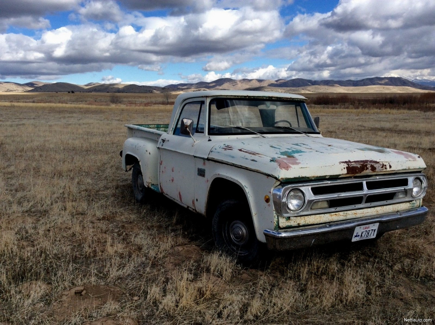 Dodge Pickup D100 69 1969 Used Vehicle Nettiauto 1949 Truck Enlarge Image