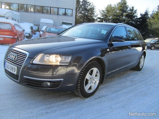 audi a6 avant 2 4 v6 5d multitronic station wagon 2006 used vehicle nettiauto. Black Bedroom Furniture Sets. Home Design Ideas