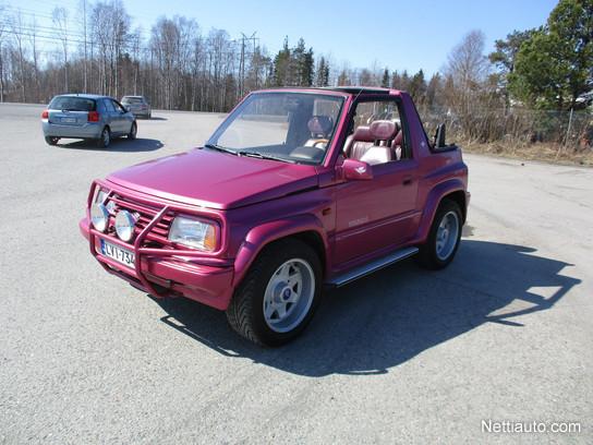 suzuki vitara 1 6 jlx powerpack 3d cabrio convertible 1993. Black Bedroom Furniture Sets. Home Design Ideas