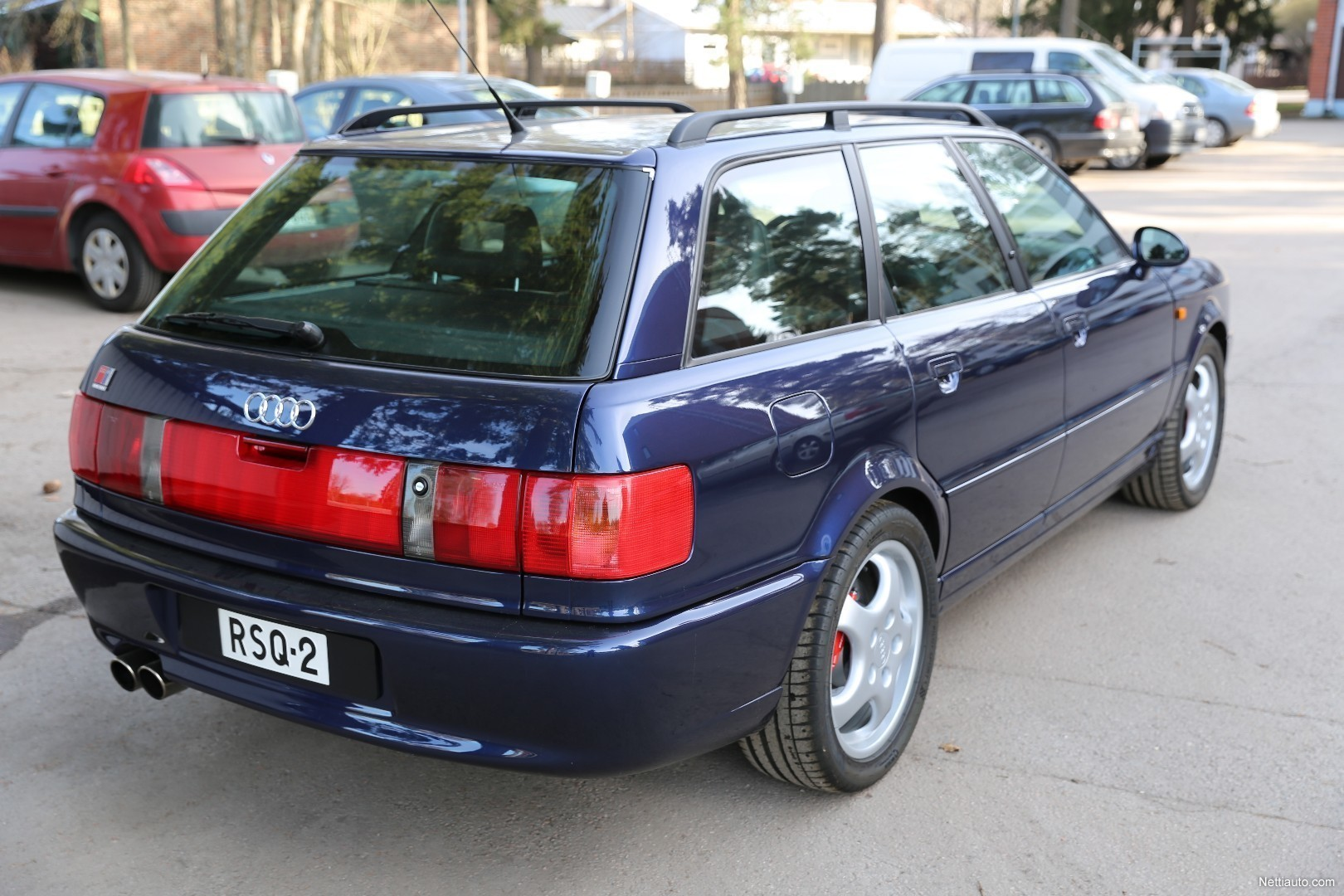 facebook twitter · Enlarge image. Audi RS2