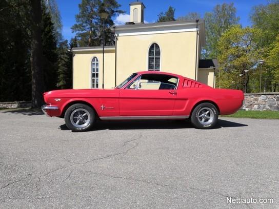 Ford Mustang Fastback >> Ford Mustang Fastback 2 2 289 V8 Coupe 1966 Vaihtoauto