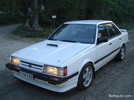 Subaru Leone 18i Turbo Ic 4wd Harvinainen Klassikko Hks