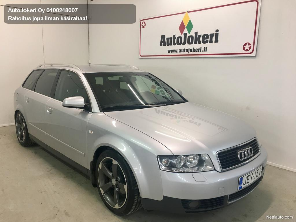 Audi A4 White Black Rims 20 Avant 5d Station Wagon 2002 Used Vehicle Nettiauto Enlarge Image