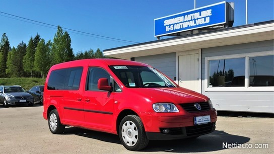 volkswagen caddy maxi comfortline 2 0 tdi 103 kw tila auto 2009 vaihtoauto nettiauto. Black Bedroom Furniture Sets. Home Design Ideas