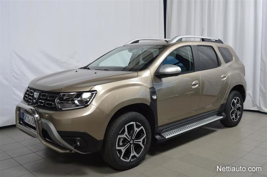 dacia duster tce 125 4x4 prestige maastoauto 2018 vaihtoauto nettiauto. Black Bedroom Furniture Sets. Home Design Ideas