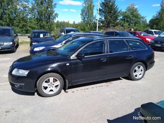 Audi A6 Avant 2 0 Tfsi Business 5d Multitronic Juuri Katsastettu Suomiauto Farmari 2006