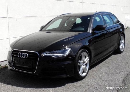 audi a6 avant business 3 0 v6 tdi 180 kw quattro s tronic start stop s line varusteltu. Black Bedroom Furniture Sets. Home Design Ideas