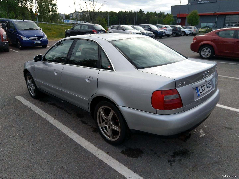 Audi A4 24 30 V6 4d A Sedan 1998 Used Vehicle Nettiauto Hp Ken