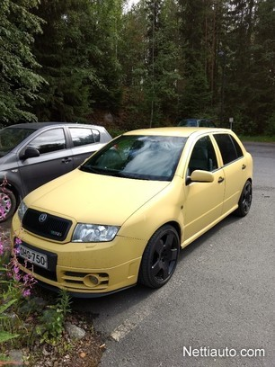 Skoda Fabia 19 Tdi Pd Rs Hb Hatchback 2003 Used Vehicle Nettiauto