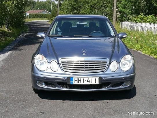 mercedes-benz e 220 cdi elegance 4d a 190hv sedan 2004 - used
