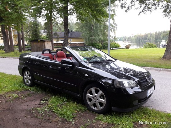 Opel Astra Cabriolet 16 16v Convertible 2001 Used Vehicle Nettiauto