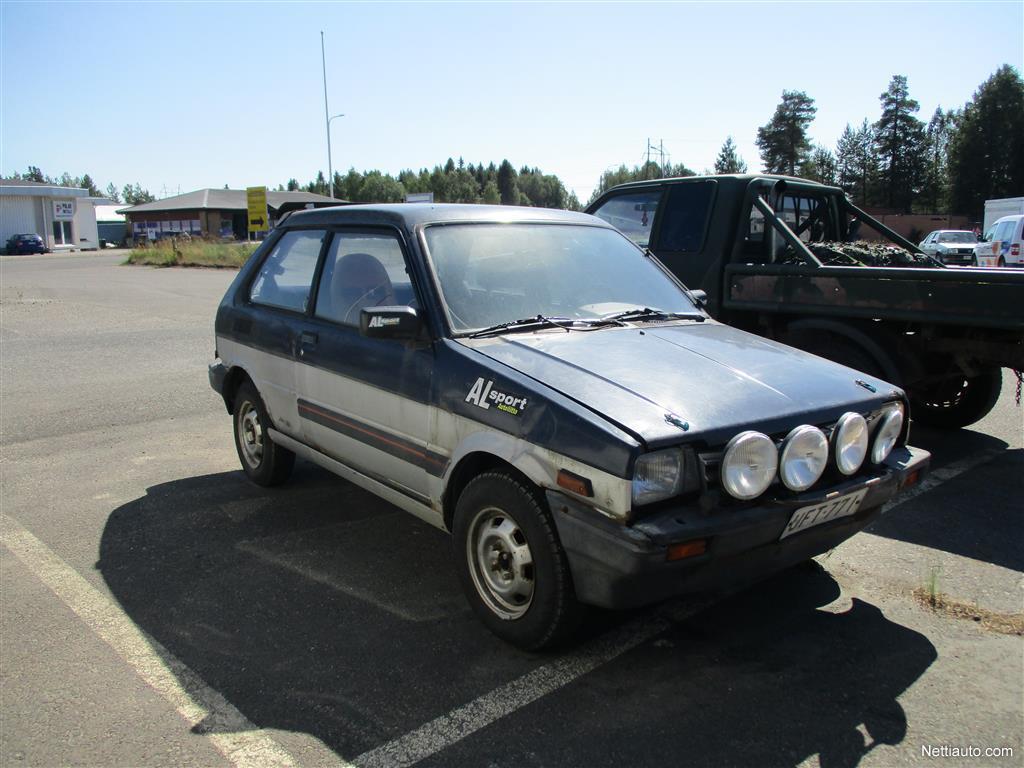 Subaru Justy J12 Sl Ii 4wd 3d Hatchback 1987 Used Vehicle Nettiauto 1992 Engine