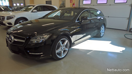 Goede Mercedes-Benz CLS 350 CDI 4-Matic Shooting Brake AMG Automaatti MM IQ-11