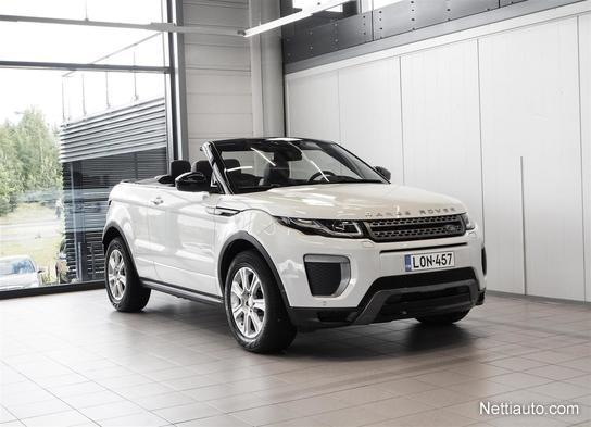 Range Rover Convertible >> Land Rover Range Rover Evoque 2 0 Td4 150 Se Dynamic Convertible Aut Nahat Navi Meridian Rahoituskorkotarjous 0 9