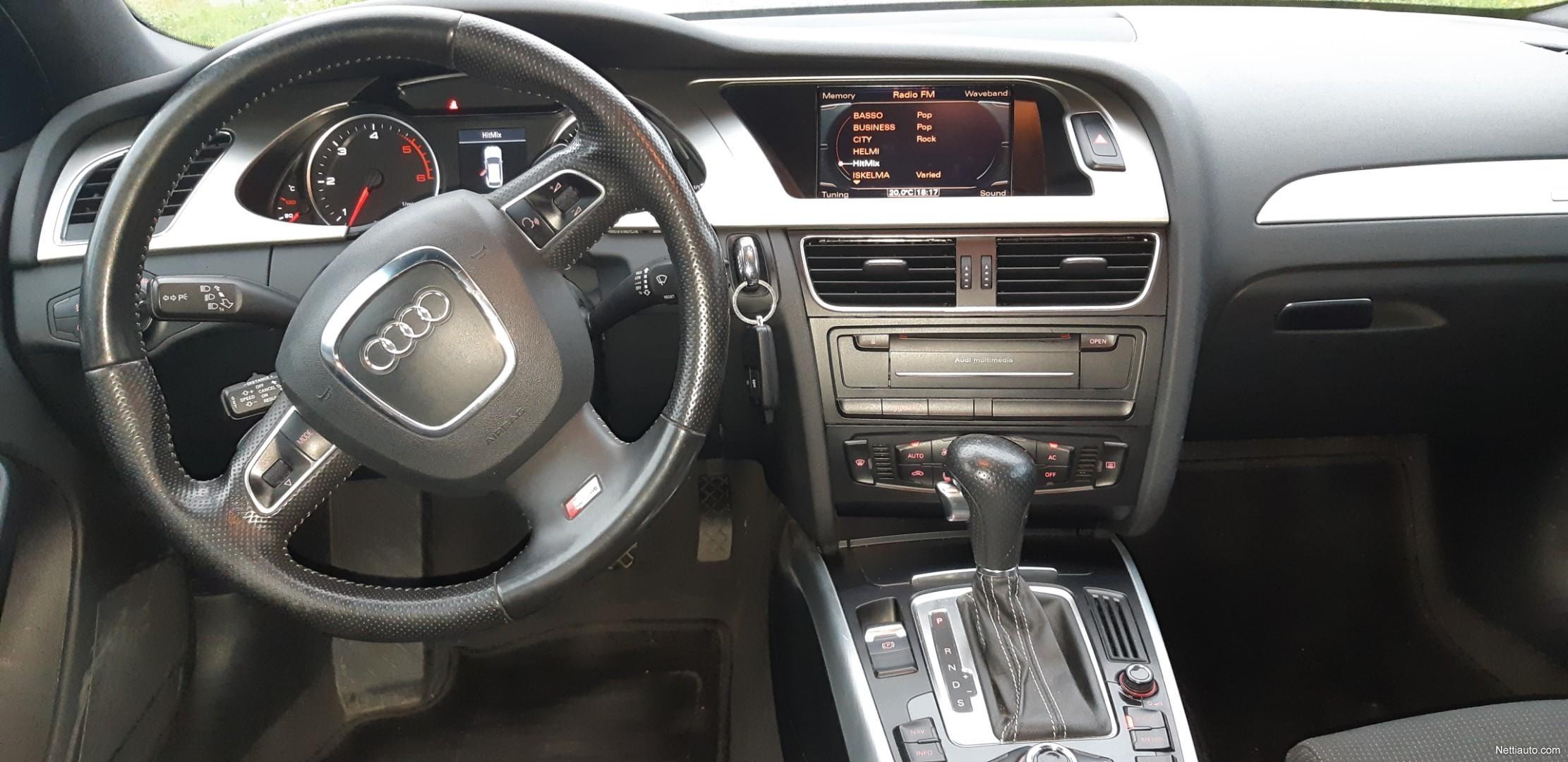 Audi A4 Avant 3 0 V6 TDI quattro S tronic Webasto Rahoitus Station