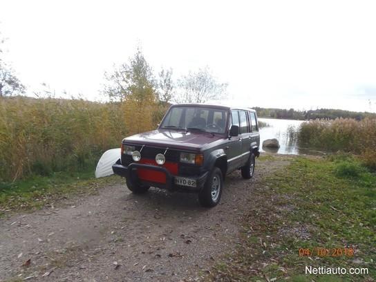 Isuzu Trooper Dlx Tbodsl Maastoauto 1989 Vaihtoauto Nettiauto