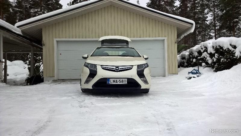 Opel Ampera Kokemuksia