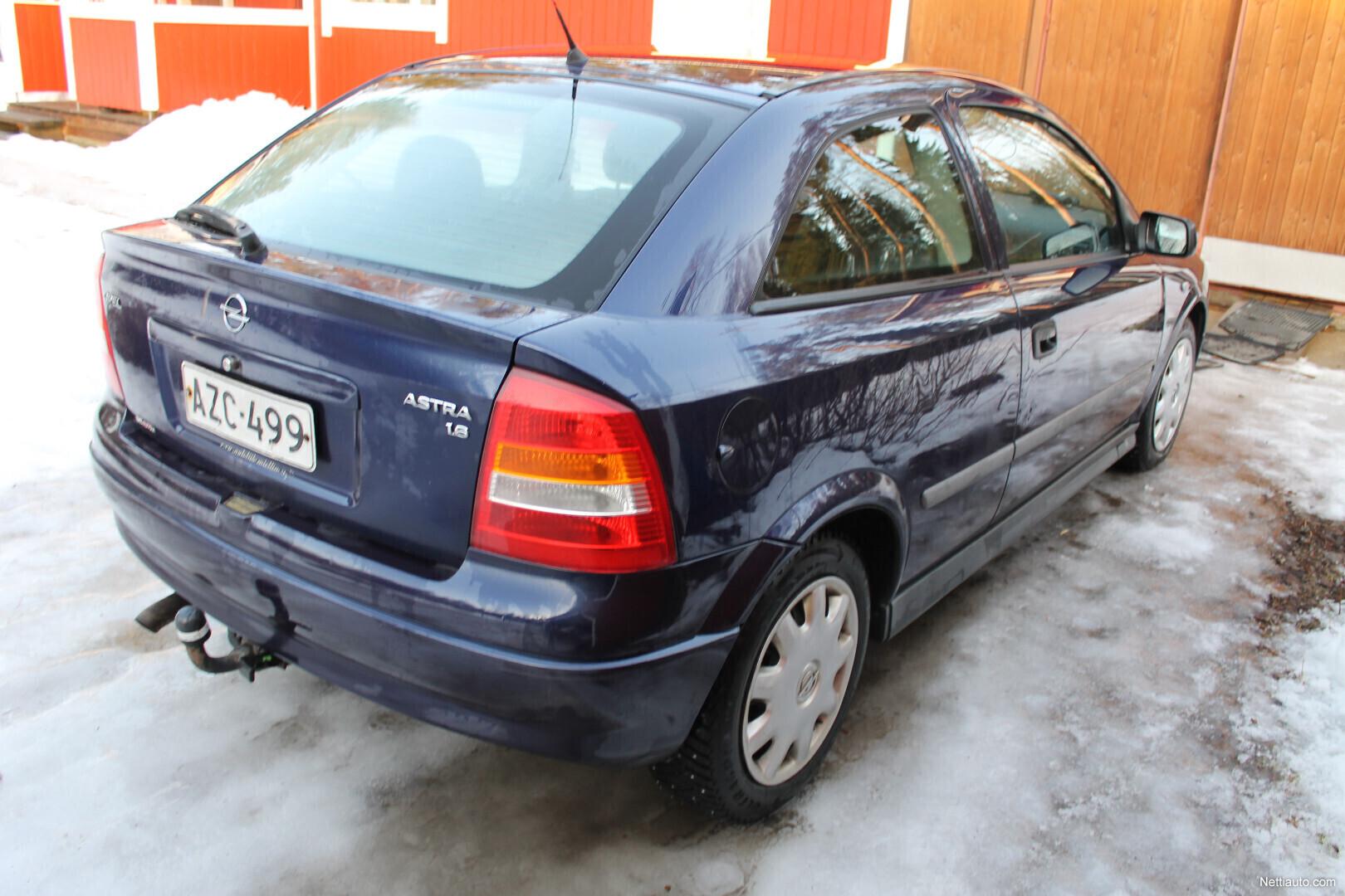 Opel Astra Kokemuksia